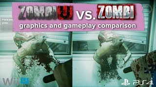 ZombiU vs. Zombi graphics and gameplay comparison (Wii U vs. PS4)