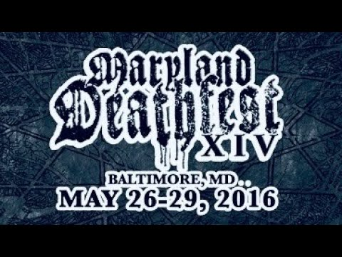 """HAIL OF BULLETS """"Live in Maryland Deathfest XIV"""" May./28/2016"""