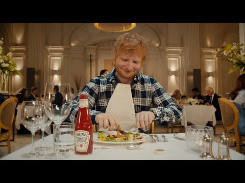 AJ - Ed Sheeran's #HeinzKetchup Commercial Is What You Expect:  AWESOME