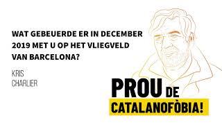 Interview met Kris Charlier, voor schut gezet door de spaanse politie omdat hij Catalaans sprak