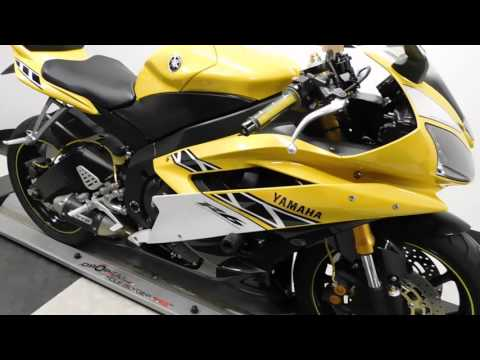 2006 Yamaha YZF-R6 Yellow - used motorcycle for sale - Eden Prairie, MN