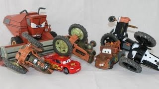 Tractor Flipping Mater and Lightning McQueen Tractor Flipping Instead of Tractor Tipping Frank Cars