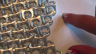 DIY Pop Tab Chain Mail