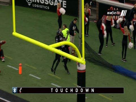 Football Highlights: Cincinnati 56, ECU 6 (Courtesy CBS Sports)