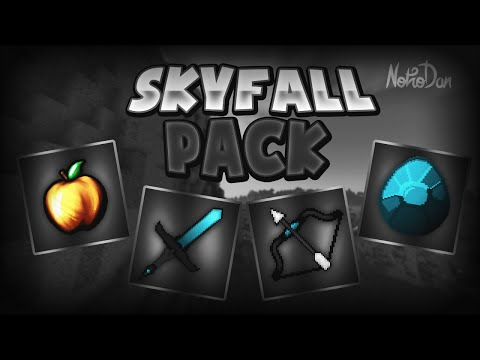 Minecraft PvP Texture Pack - Skyfall 64x [1.7/1.8]