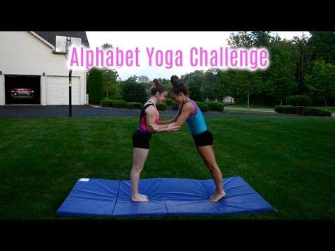 The Alphabet Yoga Challenge!! Everyday Gymnastics