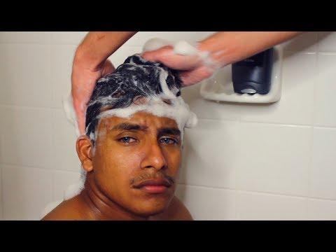 ASMR Wash Hair | Water Sounds | Foot Massage Reflexology | NOT COUPLE