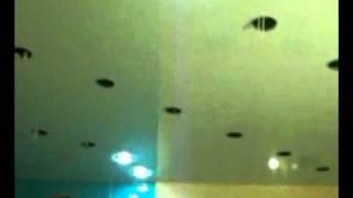 натяжной потолок в ванной комнате.avi