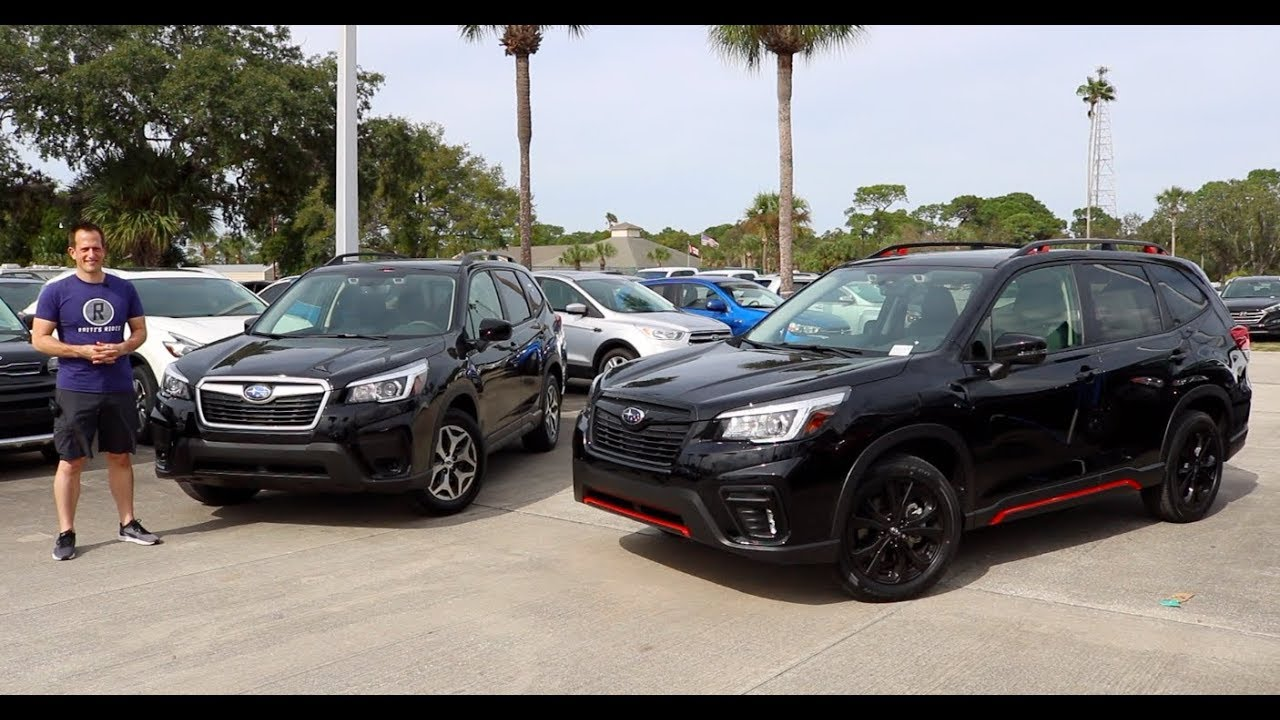 Why Buy The 2019 Subaru Forester Sport Over The Forester Premium