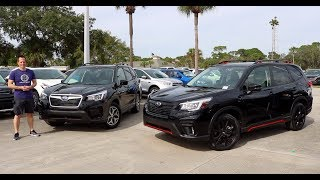 Why BUY the  2019 Subaru Forester Sport over the Forester Premium?