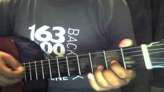 Agnus dei tutorial con guitarra
