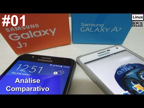 Samsung Galaxy J7 e Samsung A7 - Análise e especificações - Português