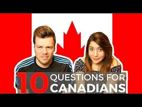Questions For Canadians! 👀🇨🇦