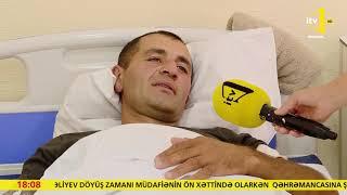 Tovuz rayonunda gedən döyüşlərdə yaralanan hərbçilərimiz yenidən səngərə üz tutmaq istəyir