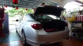Toyota Mark X Automatic Rear Trunk Release Flip Up