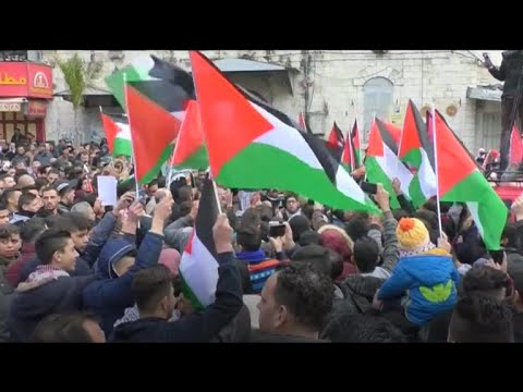 Protests against Trump's Jerusalem announcement around the world