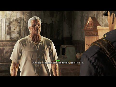 Fallout 4 - Famous Shamus McF*ckyourself Line