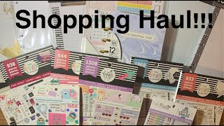 New Stuff!!! Shopping Haul| Wal-Mart, Michaels| New Releases