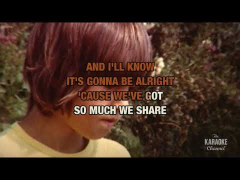 Walking In The Rain in the style of The Ronettes | Karaoke with Lyrics