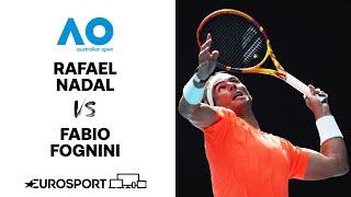 Rafael Nadal v Fabio Fognini | Australian Open 2021 - Highlights | Tennis | Eurosport