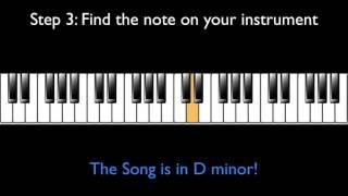 How to Find The Key of A Song By Ear (Cách tìm ra giọng của một bài nhạc bằng tai)