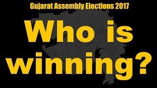 connectYoutube - कौन जीत रहा है गुजरात चुनाव में? | Gujarat Assembly Elections 2017