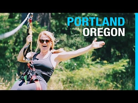 RVING PORTLAND OREGON // MULTNOMAH FALLS (EP 62³ RV LIVING TRAVEL VLOG)