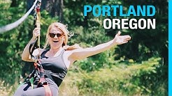 RVING PORTLAND OREGON // MULTNOMAH FALLS (EP 62 RV LIVING TRAVEL VLOG)