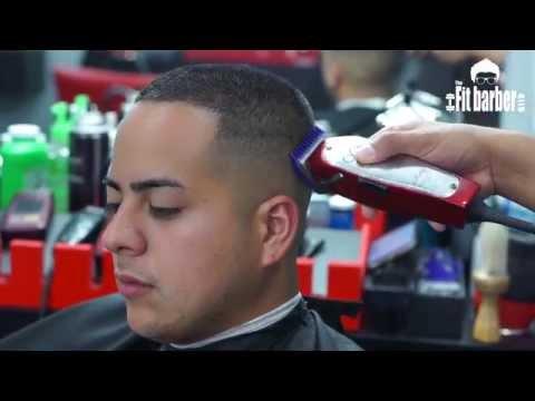 Military Bald Fade Hair Cut By Michael Ryan Cassidy