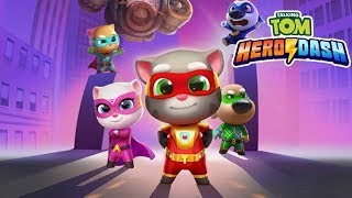 Talking Tom Hero Dash Android Gameplay Ep 1 - Unlock Talking Angela