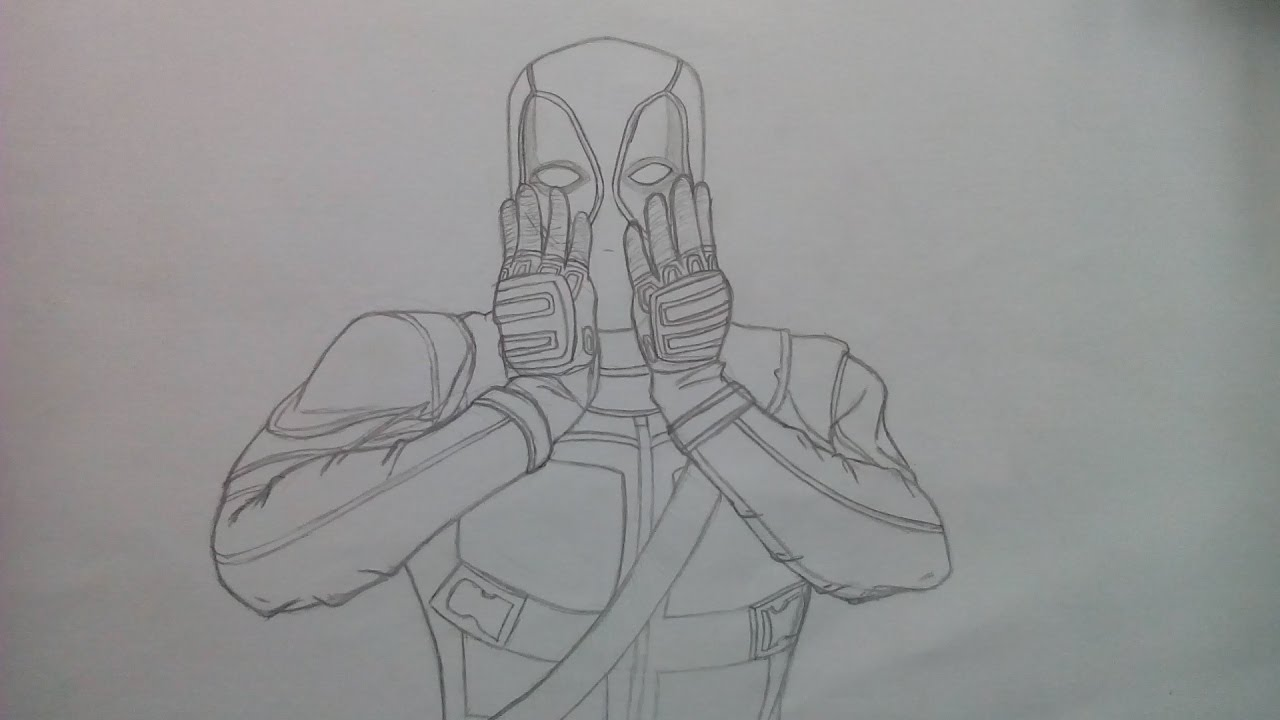 Dibujando a Deadpool - YouTube