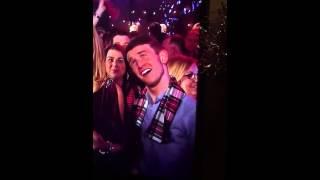 Guy mocks presenter on New Years Eve