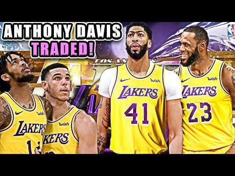 ANTHONY DAVIS TRADED! LOS ANGELES LAKERS REBUILD! NBA 2K19 MY LEAGUE