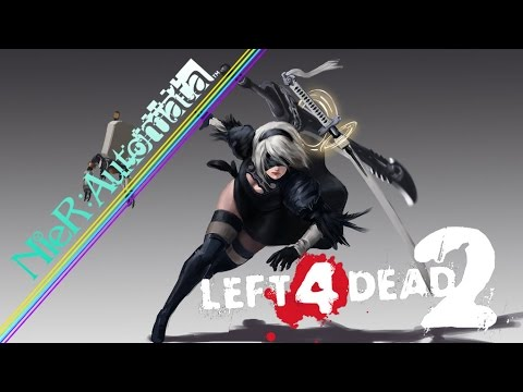 This Server Very Fun with Yorha 2B | Left 4 Dead 2 Marvelous Server
