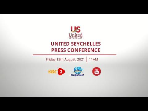 SBC   LIVE - PRESS CONFERENCE - UNITED SEYCHELLES - 13.08.2021