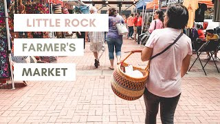 Ica IRL - Ep. 1: Little Rock Farmer's Market | NATURALLY ANGELICA