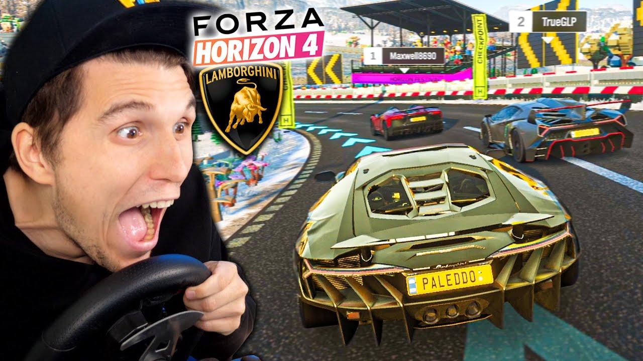 Mein GOLDENER Lamborghini zerfetzt ALLES! | Forza Horizon 4