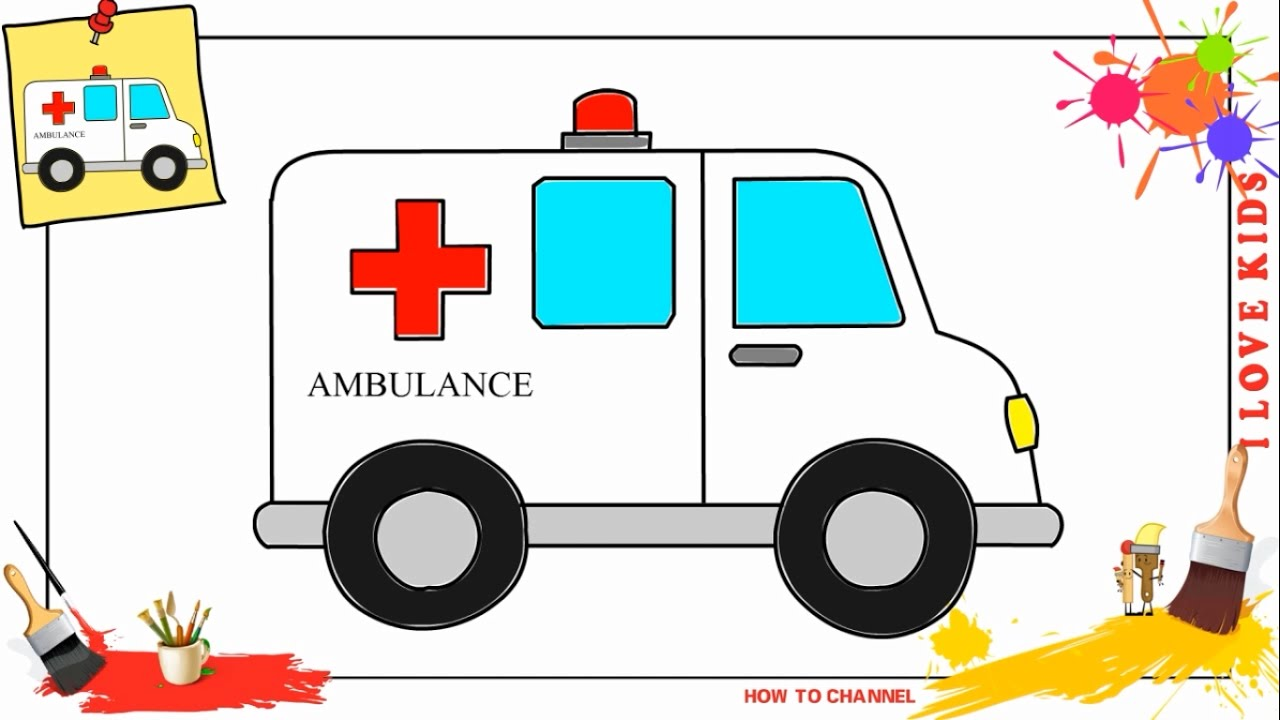 ambulance drawing wwwpixsharkcom images galleries