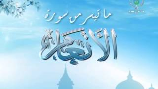 Sourate Les Troupeaux | الأنعام ʾAl ʾAnʿām | par sheikh Mohammed Al Ibrahimi | Warch