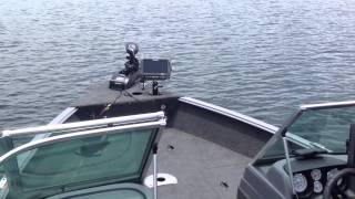 Lowrance & Motor Guide Xi5 At Work