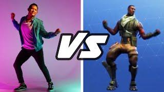 Dançarinos profissionais tentam desafio Fortnite
