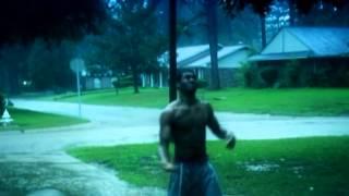 Kid hit by lightning (caught on tape)