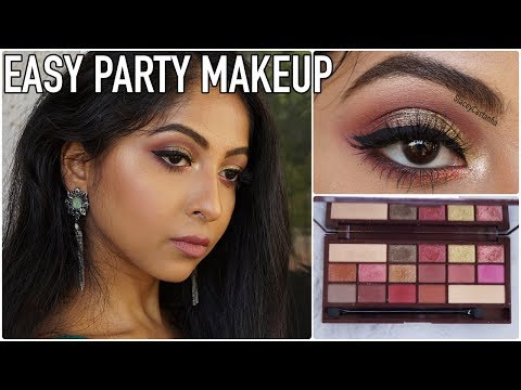 Easy Glam Party Makeup Look