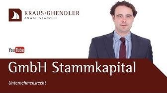 Gründung GmbH: Wie hoch muss das Stammkapital bei der Gründung sein?