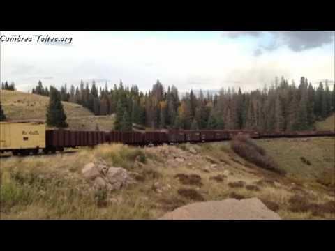 34 Car Freight Train - Sep 30, 2015  - Friends of the Cumbres & Toltec