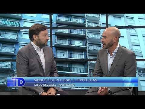 Menos escrituras e hipotecas: Nota con el martillero Diego Del Valle