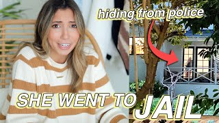 The witch WENT TO JAIL! crazy neighbor's wake up call?! (LIVE FOOTAGE)
