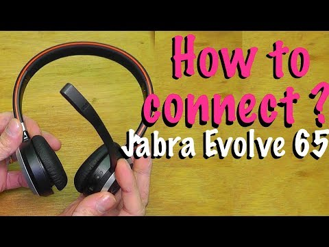 935ba88d5 How to connect Jabra Evolve 65 to your Mac or PC computer