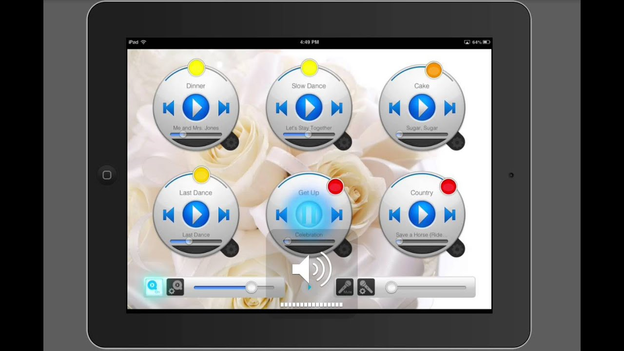 how to dj your own wedding fire the dj play your own music diy on apple ipad