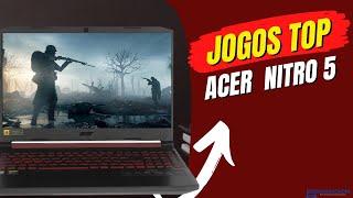 12 jogos rodando na GTX 1050 notebook acer nitro 5✅